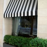 The Roger - look for the striped awning