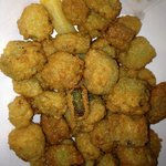 The best fried okra ever!