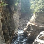 View of the chasm