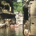 Rafting the chasm