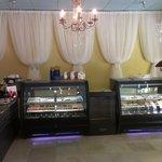 dessert gallery at The Empress Tea room