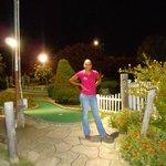 The Mini Golf area