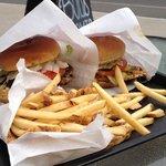 Chicken sandwich & burger