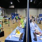 Exhibición de pasteles