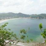 Bay of San Juan del Sur, Nicaurgua taken from Jesus Christo statue
