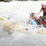 Excellent Whitewater on the Kicking Horse River