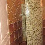 Room #1 bathroom shower