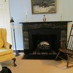 Gas fireplace in Odorian