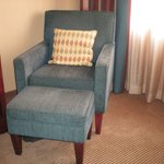 Hotel room chair