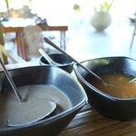 Mushroom and Seafood Soup
