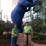 Denver Segway Tour Stop - Blue Bear at the Convention Center