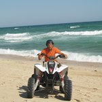 Paseo en moto por las playas