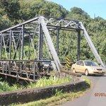 One of many bridges on Kaua'i