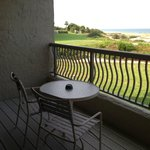 Large balcony with beautiful ocean and sand dune views!