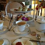 Tea Time at the Biltmore in Coral Gables, Florida