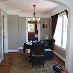 dining room in room