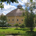 the historic round barn