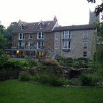 The view of the vicarage from the back