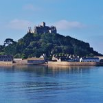A view of St. Michael's Mount from the street.