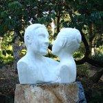 Sculpture at Noosa Botanic Gardens
