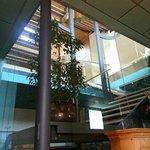 scala di accesso al piano superiore dalla cantina al ristorante
