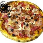 Pizza Mamma Lucia Familiar, un clásico!