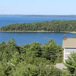 Another fiew View of Frenchman's Bay and Bar Island from 4th Floor Balcony