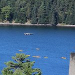 Kayakers in Frenchman Bay
