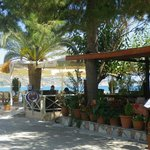 beach tavernas - only two of quite a few