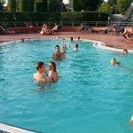 zwembad om lekker af te koelen