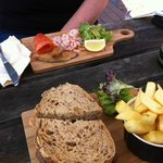 Food at The Crown Inn, Groombridge