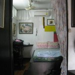 Double room + bunk beds, with aircon and fan