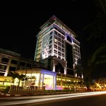 Night view of Hotel Perdana