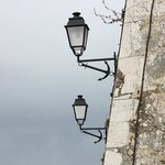 Lamps outside Citadelle walls