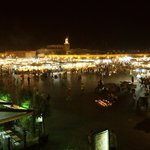 Jemaa El Fna (main square at night)