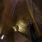 Пещеры Бейт Гуврин. Один из переходов
