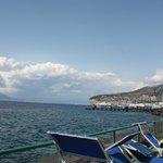 Sorrento beach view is fantastic