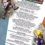 Rock Stars Children's Timetable