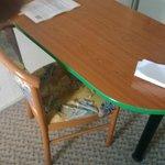 Torn furniture