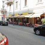 "Our favourite ""local"" café - 7 minutes away"
