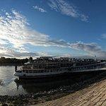 veduta esterna boat hotel fortuna