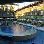 Viwe of one of the pools & bar