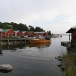 Рыбацкая деревушка на острове Каунисаари