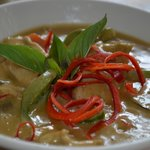 Most popular: Classic Thai green curry.