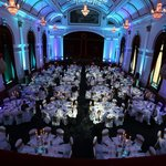 Our beautiful building ready for our meet the buyer dinner