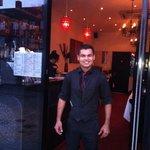 Raj the lovely friendly helpful waiter