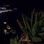 panorama notturno dal terrazzo