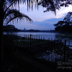 Ulsoor Lake at Blue Sunset - Sunny Khanuja