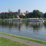 The Vistula River at krakow Poland