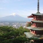 Mt. Fuji with Chureito Pagoda